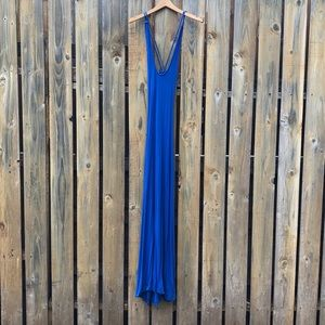 Backless blue Bebe